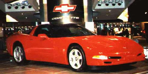 This image has an empty alt attribute; its file name is 1997DetroitAutoShow-vette.jpg